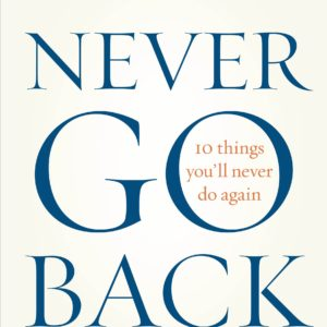 Never Go Back Book